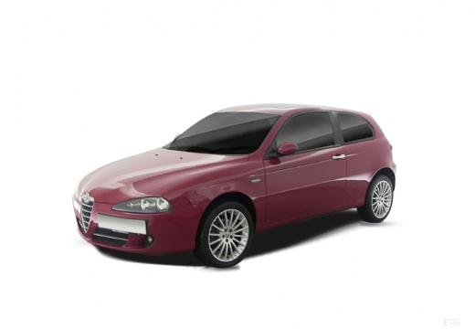 ALFA ROMEO 147 hatchback czerwony jasny
