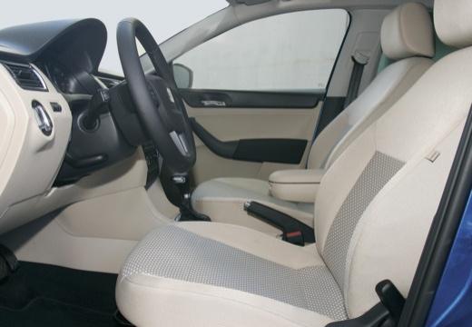 SEAT Toledo IV hatchback wnętrze