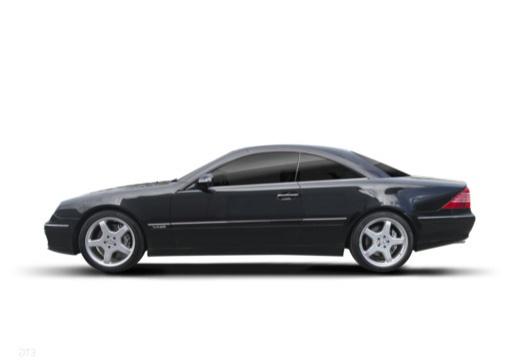 MERCEDES-BENZ Klasa CL 215 coupe boczny lewy