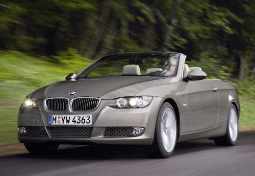 BMW Seria 3 Cabriolet E93 I kabriolet silver grey przedni lewy