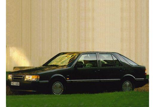 SAAB 9000 CS hatchback czarny przedni lewy