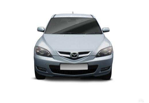 MAZDA 3 II hatchback przedni