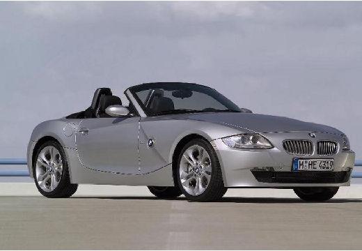 BMW Z4 roadster silver grey przedni prawy
