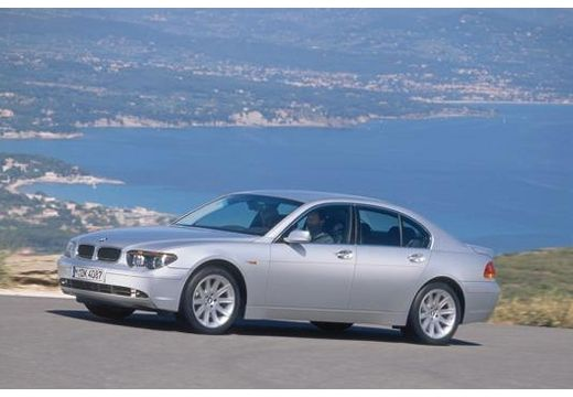 BMW Seria 7 E65 E66 I sedan silver grey przedni lewy