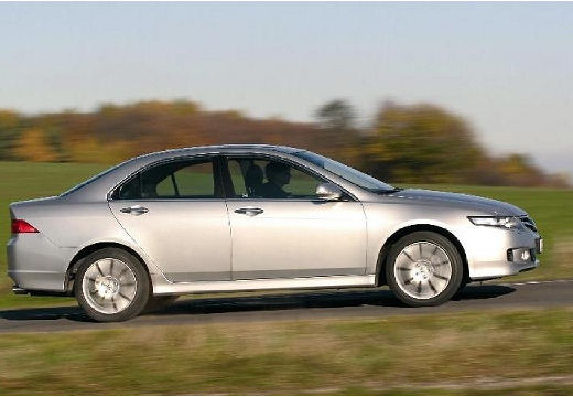 HONDA Accord VI sedan silver grey boczny prawy