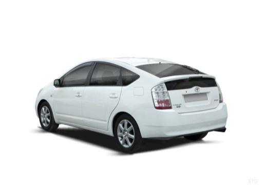 Toyota Prius I hatchback biały tylny lewy