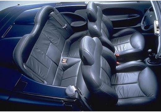 RENAULT Megane Cabrio II kabriolet niebieski jasny wnętrze