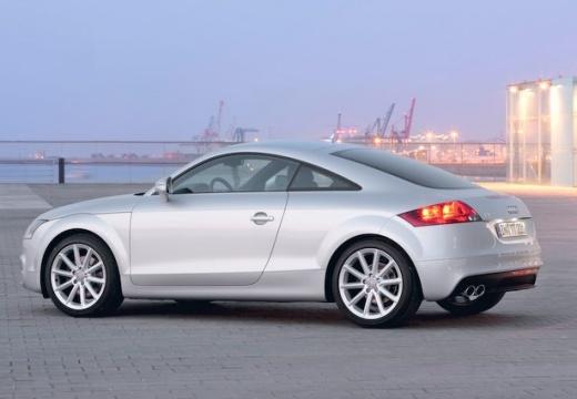 AUDI TT II coupe silver grey tylny lewy