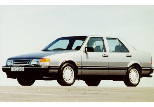 SAAB 9000 CD II sedan silver grey przedni lewy