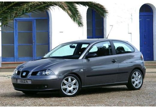 SEAT Ibiza hatchback szary ciemny przedni lewy