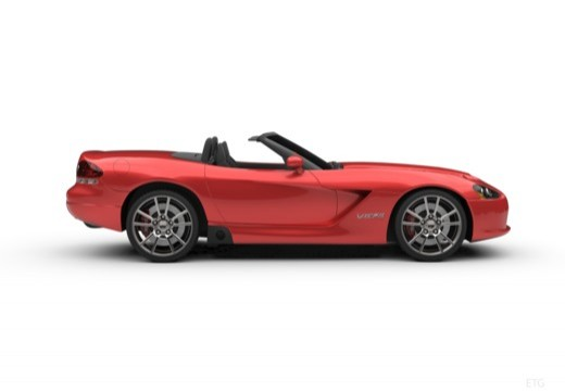 DODGE Viper Roadster II coupe boczny prawy