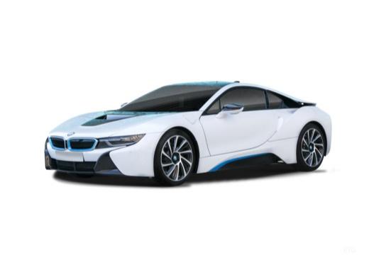 BMW i8 coupe biały przedni lewy
