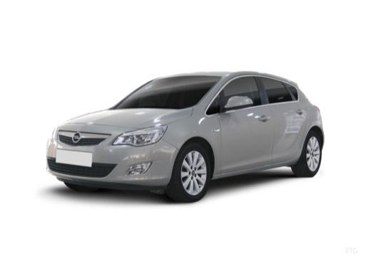 OPEL Astra IV I hatchback silver grey