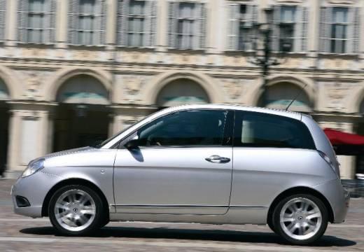 LANCIA Ypsilon II hatchback silver grey boczny lewy