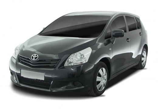 Toyota Verso kombi mpv czarny