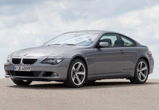 BMW Seria 6 coupe silver grey przedni lewy