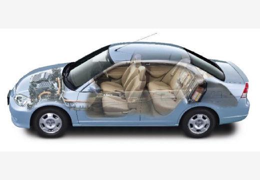HONDA Civic V sedan niebieski jasny prześwietlenie