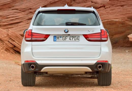 BMW X5 X 5 F15 kombi biały tylny