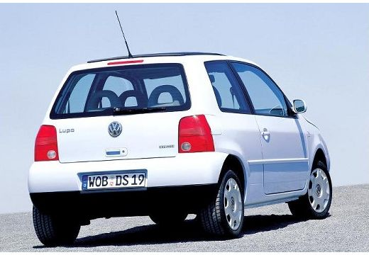 VOLKSWAGEN Lupo hatchback biały tylny prawy