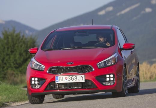 KIA Ceed Proceed V hatchback czerwony jasny przedni lewy