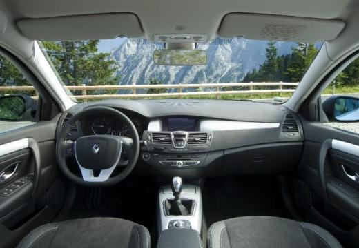 RENAULT Laguna III I hatchback silver grey tablica rozdzielcza