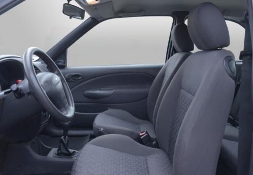 FORD Fiesta IV hatchback silver grey wnętrze
