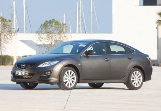 MAZDA 6 IV sedan silver grey przedni lewy