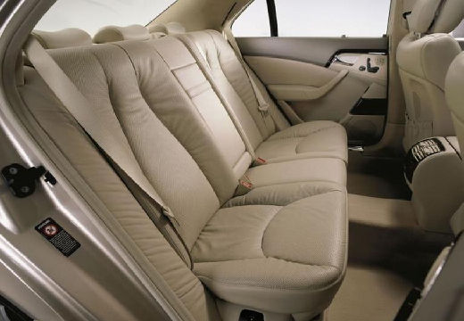 MERCEDES-BENZ Klasa S W 220 II sedan silver grey wnętrze