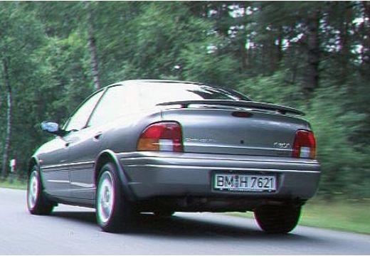 DODGE Neon I sedan silver grey tylny lewy
