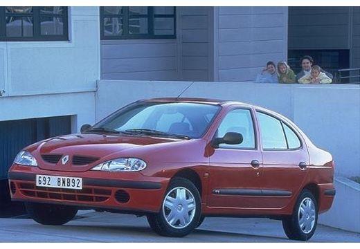 RENAULT Megane Classic III sedan czerwony jasny przedni lewy