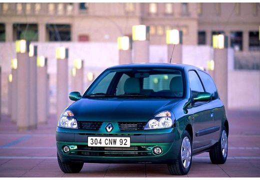 RENAULT Clio II II hatchback zielony przedni lewy
