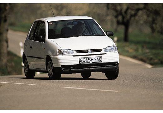 SEAT Arosa I hatchback biały przedni prawy