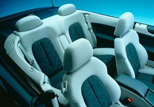 MERCEDES-BENZ Klasa CLK CLK Cabriolet A 208 kabriolet wnętrze