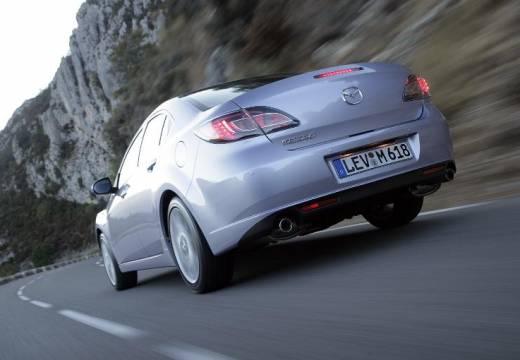 MAZDA 6 III sedan silver grey tylny lewy