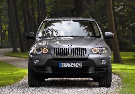 BMW X5 kombi silver grey przedni