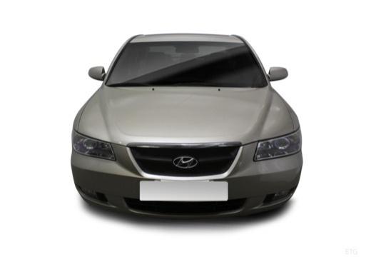 HYUNDAI Sonata VI sedan silver grey przedni