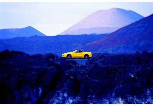 MASERATI 4200 Spyder roadster żółty boczny lewy