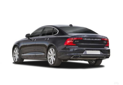 VOLVO S90 I sedan czarny tylny lewy