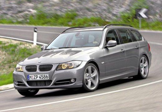BMW Seria 3 kombi szary ciemny przedni lewy