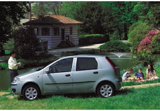 FIAT Punto II Classic hatchback silver grey boczny lewy
