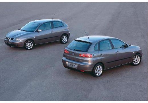 SEAT Ibiza IV hatchback szary ciemny