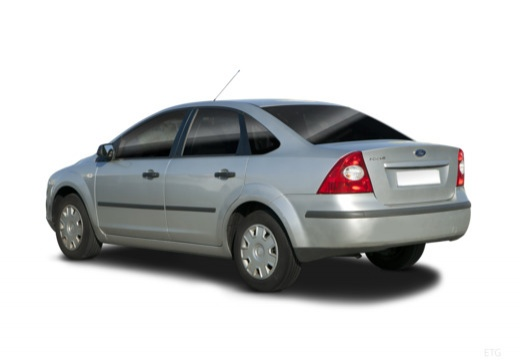 FORD Focus III sedan silver grey tylny lewy