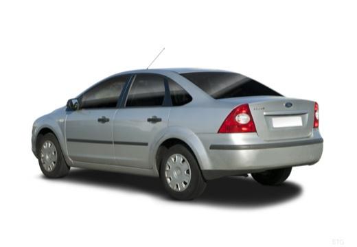 FORD Focus III sedan silver grey tylny lewy