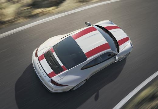 PORSCHE 911 991 I coupe biały górny przedni