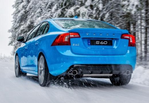 VOLVO S60 V sedan niebieski jasny tylny lewy