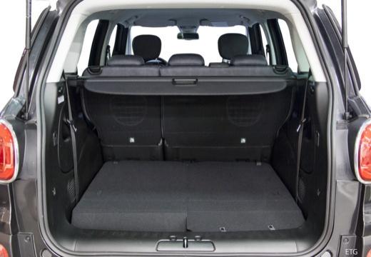 FIAT 500 L I hatchback przestrzeń załadunkowa