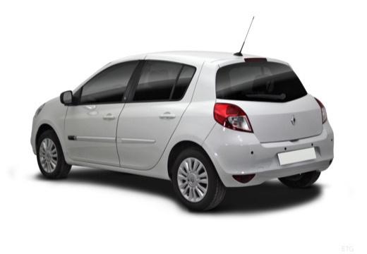 RENAULT Clio III II hatchback biały tylny lewy
