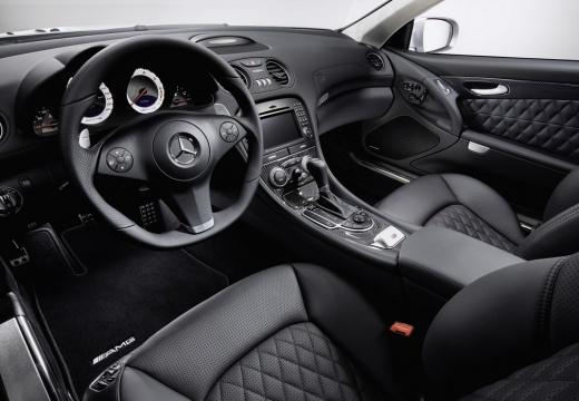 MERCEDES-BENZ Klasa SL SL 230 III roadster silver grey tablica rozdzielcza