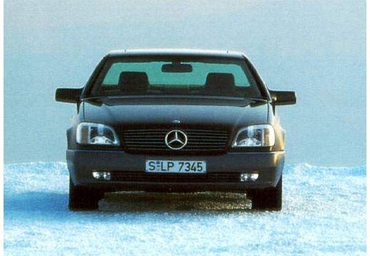 MERCEDES-BENZ Klasa SEC coupe szary ciemny przedni