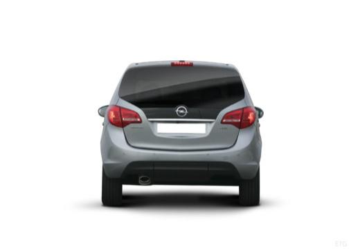 OPEL Meriva IV hatchback tylny